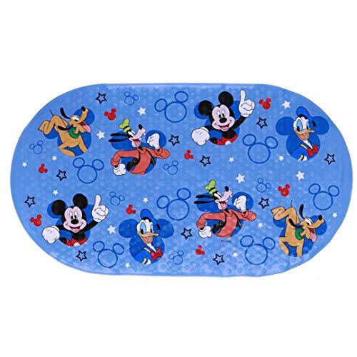 Disney Mickey Mouse Oval Bubble Bath Mat, 15.75' X 27'