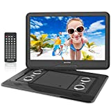 WONNIE 17.9'' Large Portable DVD/CD Player with 15.6 Swivel Screen, 1366x768...