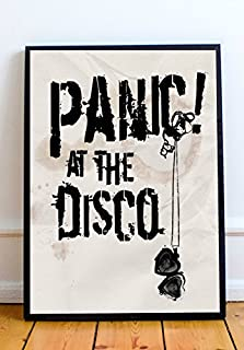 Panic at the Disco Limited Poster Artwork - Professional Wall Art Merchandise (More (8x10)