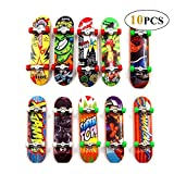 Reastar Finger Skateboard 10pcs Professionelle Mini Fingerboards Skatepark Spielzeug für Kinder...