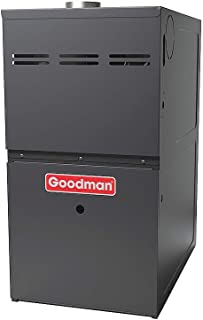 Goodman GMS80603AN Gas Furnace, Single-Stage Burner/Multi-Speed Blower, Upflow/Horizontal - 60,000 BTU