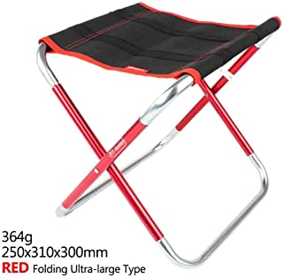 Amazon.com : JNON Outdoor Portable Folding Chair Large Camping ...