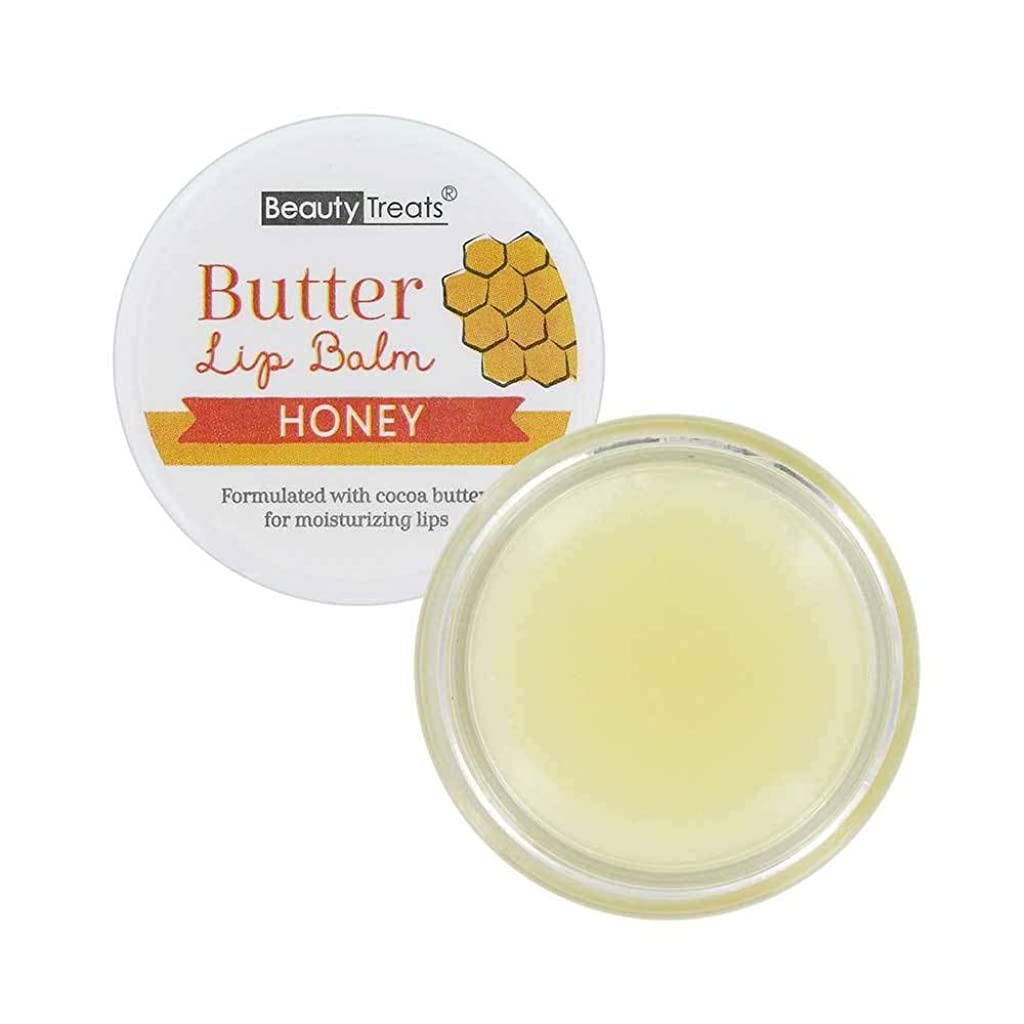 羊飼い時系列銛BEAUTY TREATS Butter Lip Balm - Honey (並行輸入品)