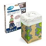 Carebag Kit WC (assise en carton pliable + 12 sacs absorbants oxo-biodégradables)