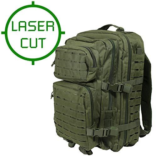 Mil-Tec US Assault Pack Large Laser Cut Oliv