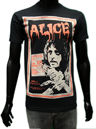 Poster Alice Cooper Vintage T-shirt unisexe Officiel diff?rentes tailles New ...