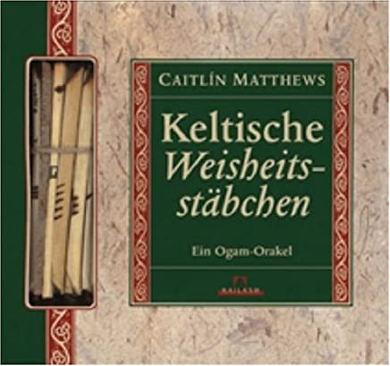 Keltische Weisheitsstäbchen, Buch u. 21 Holzstäbchen