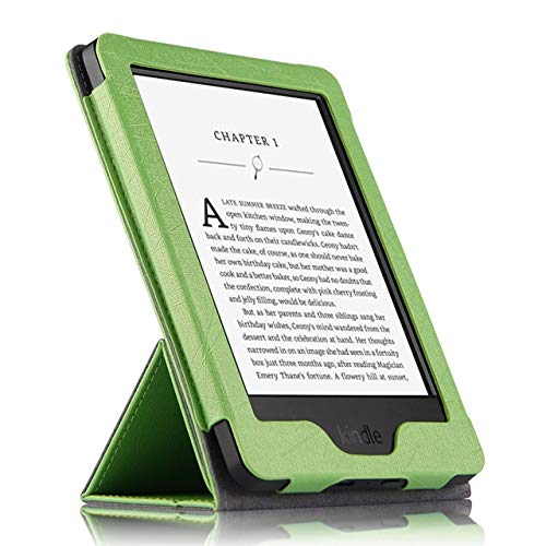 XXIUYHU Schutzhülle für Kindle Pu Schutzhülle für Ebook Reader Smart Cover Leder für Amazon Kindle Wp63gw Schutzhülle Schutzhüllen 6 ''grün