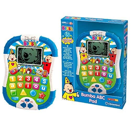 Clementoni Bumba ABC Tablet juguete para el aprendizaje - juguetes para el aprendizaje (212 mm, 45 mm, 280 mm)