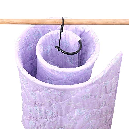 Read About JIAYING Spiral Shaped Drying Rack Storage Quilt Blanket Rack Spiral Shaped Drying Rack Mu...