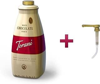 Torani White Chocolate Sauce + Pump