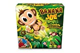 Banana Joe: Actionspiele / 1 springender Affe / 1 Bananenbaum / 12 Bananen / 1 Würfel / 1 Aufkleberbogen / 1 Spielanleitung / 2-5 Spieler / Spieldauer 15 Minuten