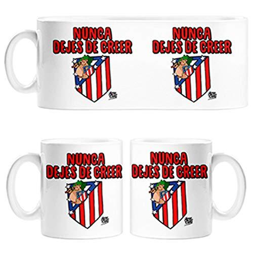 Diver Tazas Taza Atlético de Madrid Nunca Dejes de Creer 2 Jorge Crespo - Cerámica