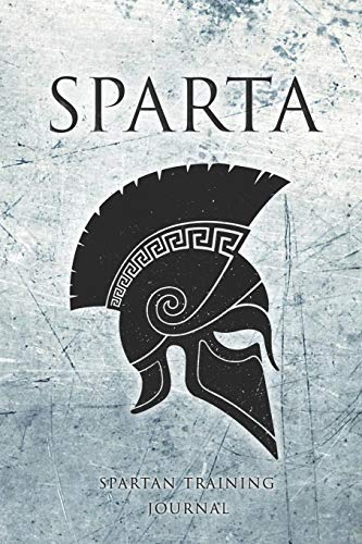 Spartan Training Journal: Spartan themed MMA training journal/BJJ training journal/Gym Workout Notepad.