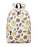 Joymoze Bonita Mochila Escolar Impermeable para Niños y Niñas - Cartera Ligera de Estampado Elegante Color Fruta