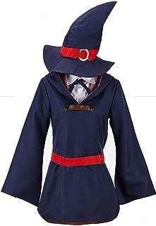 Hot Anime Little Witch Academia Akko Kagari Cosplay Costume Outfit