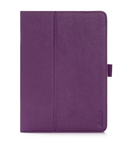 ProCase Galaxy Tab S2 9.7 Case - Stand Folio Cover Case for Galaxy Tab S2 Tablet (9.7 inch, SM-T810 T813 T815), with Hand Strap, auto Sleep/Wake (Purple)