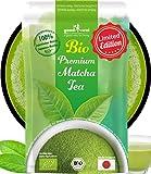 Matcha Pulver Tee Bio - Original Japanischer Matcha in Premium Qualität (Limited Edition 100g)