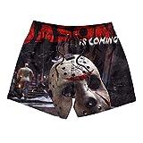 Unicorns Farting Boys Girls Jogging Fashion Mortal-Kombat-Voorhees-Black- Board ShortsSwim Shorts