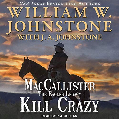 Kill Crazy audiobook cover art