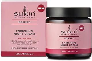 Sukin Rosehip Enriching Night Cream, 120ml
