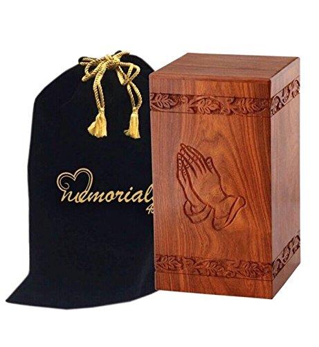 Rosewood Wooden Burial Box