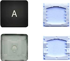 Replacement Individual A Key Cap and Hinges are Applicable for MacBook Pro A1706 A1707 A1708 Keyboard to Replace The A Key Cap and Hinge
