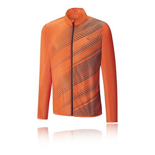 Mizuno Herren Premium Aero Jacket Jacke, Orange/Clown Fish/Tornado, M