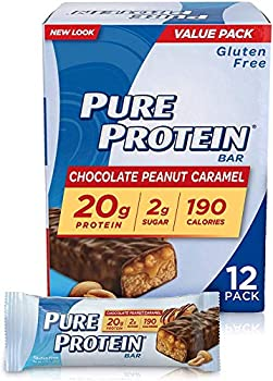 12-Pack Nature's Bounty High Protein Low Sugar Pure Protein Bars