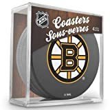 Sher-Wood Boston Bruins NHL Eishockey Puck Untersetzer (4er Set) -