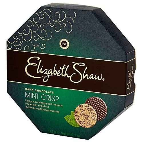 Elizabeth Shaw - Mint Crisp Dark Chocolates - 175g (Pack of 2)