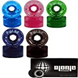 Purple Atom Pulse Outdoor Skate Wheels with Bionic Bearings