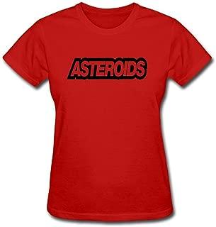 Newm Women's Asteroids Game O Neck Short Sleeve T Shirt