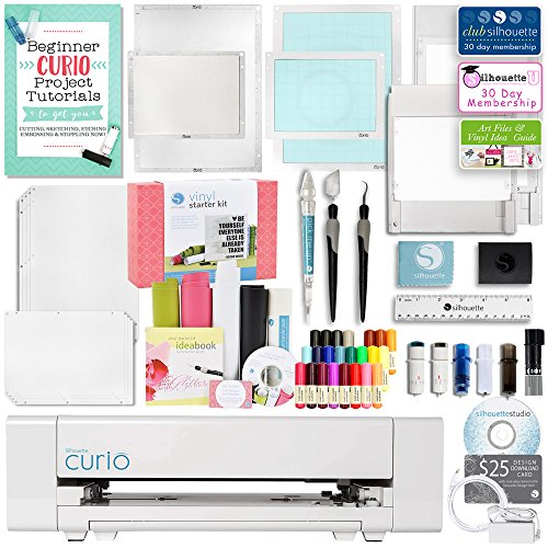 Silhouette America Curio Crafting Machine with Large Base,...