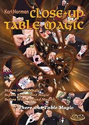 Close Up Table Magic K. Norman, DVD