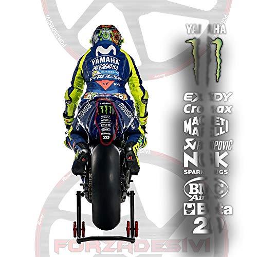 Sponsors DID AKRAPOVIC BMC BETA Aufkleber The Doctor VR46 Rossi 46 MOTOGP Motorrad MVK VIÑALES 12 R1 R6 MT07