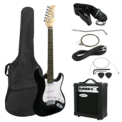 ZENY 39' Full Size Electric Guitar with Amp, Case and...