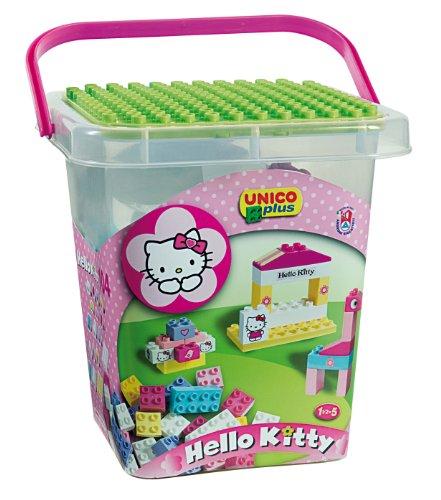 COSTRUZIONE Unico Hello Kitty-Secchio Grande 104pz 8662