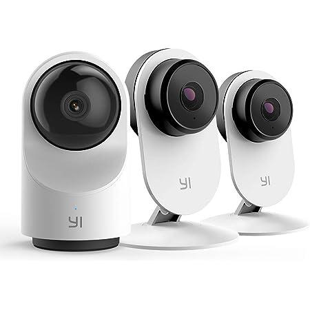 Amazon Com Yi 1080p Juego De Cámara De Seguridad Para Interiores 2 4 G Wifi Sistema De Vigilancia Para El Hogar Con Respuesta De Emergencia 24 7 Aplicación Servicio En La Nube Disponible Para Funciones Avanzadas