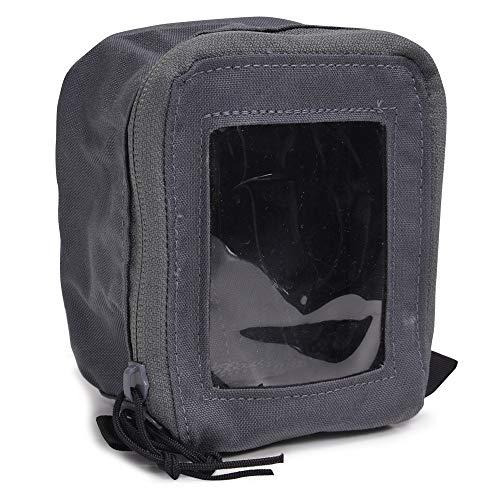 LBX TACTICAL Bolsa de janela aberta de 7,62 cm, cinza lobo, pequeno - LBX-1015WG