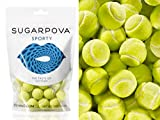 Sugarpova Sporty Tennis Ball Chewing Gum (Lemon-Lime), 5 Oz (142 grams)