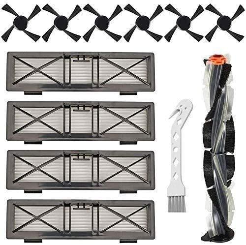 Bürstenfilter Ersatzzubehör Kit kompatibel für Neato D-Serie D75 D80 D85 Connected D3 D4 D5 D6 D7 Robotic