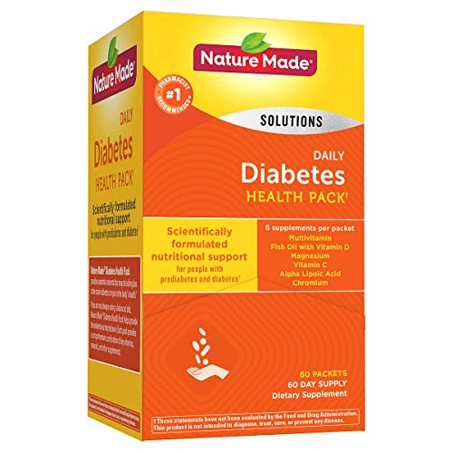 Review Of Diabetes Health Pack Nutritional Support for Diabetes and Pre-diabetes of 60 Packets (6 VI...