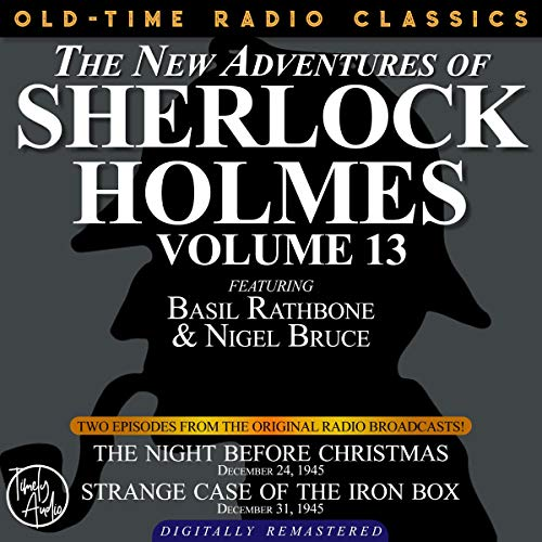 The New Adventures of Sherlock Holmes, Volume 13 cover art