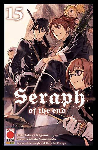 Seraph of the End N° 15 - Ristampa - Planet Manga - Panini Comics - ITALIANO