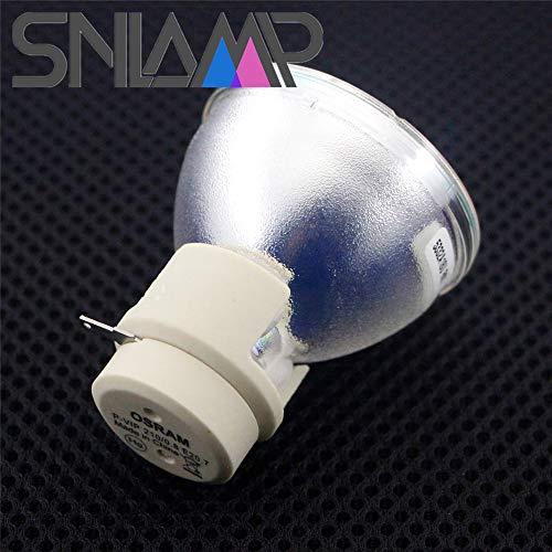 SNLAMP Original 5J.JED05.001 ErsatzProjektorlampe Beamerlampe P-VIP 210/0.8 E20.7 Glühlampe für BENQ W1090 TH683 HT1070 BH3020 BH302 Projektoren