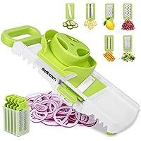 Sedhoom 6-in-1 Foldable Mandolin Vegetable Slicer