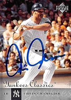 Chris Chambliss autographed baseball card (New York Yankees) 2004 Upper Deck Classics #7 - MLB Autographed Baseball Cards