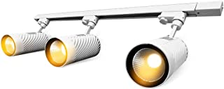 UPO Track Lighting Kit with 3-LED Light, Super Bright with 4500 Lumens High-end Commercial Track Lights, Advanced Material, Easy to Install, ETL & CTEL Certification, White