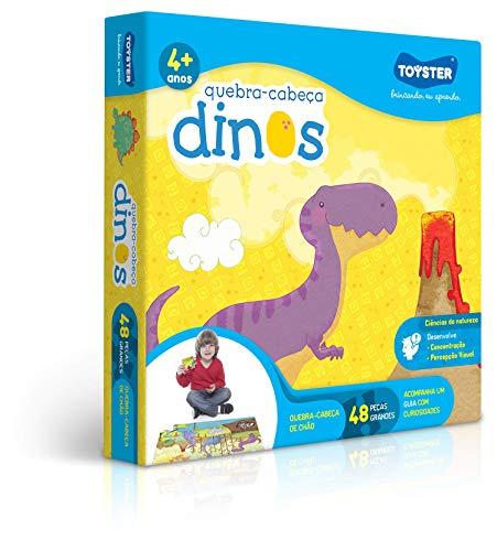 Grandão 48 Peças Dinos Toyster Brinquedos